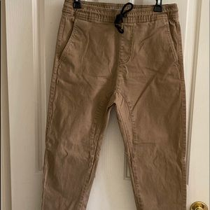 Other - Mens Tan Joggers